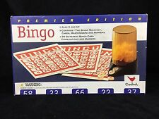 Premier Edition Bingo by Cardinal 1997 Age 6 MISSING B2 and G53 SOLD AS IS