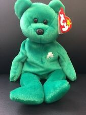 Ty Beanie Baby Erin Green Irish Bear Original St.Patricks New Collectable