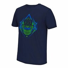 Adidas Men's Destroy GO-TO Performance Tee T-Shirt XL X-Large Collegiate Navy
