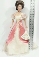 Franklin Mint Heirloom Doll The Gibson Girl Laura The Debutante 1989