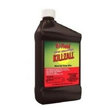 NEW HI YIELD 33692 KILLZALL QUART WEED & GRASS KILLER 41% GLYPHOSATE CONCENTRATE