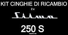KIT CINGHIE DI RICAMBIO 2 x PROIETTORE SUPER 8 mm SILMA 250 S ★