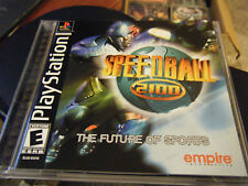 Speedball 2100 (PlayStation, 2000) - Complete!!!!!