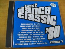 "BEST DANCE CLASSIC 80"" CD LAM BIONDA RIGHEIRA LORCA GLORIA GAYNOR QUEEN SAMANTHA"