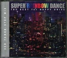 SUPER RAINBOW DANCE THE BEST FOR HAPPY DRIVE - Japan 3 CD  Laurie  Olivia Kikka