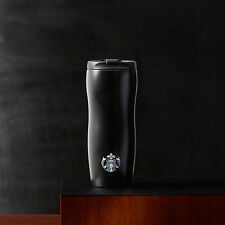 Starbucks Coffee Stainless Steel ONYX BLACK LUCY Slim Travel Mug Tumbler 12oz