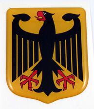 German Eagle shield Emblem domed decal Bike Car sticker Deutschland Germany