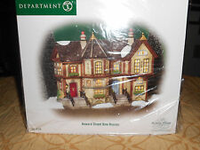 DEPT 56 DICKENS' VILLAGE HOWARD STREET ROW HOUSES NIB *Still Sealed*
