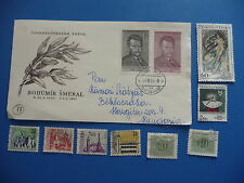 First day cover, Czechoslovakia, Bohumir Smeral, 1951 plus misc czech stamps