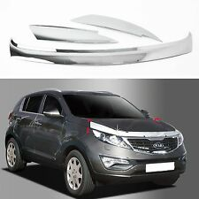 Chrome Bug Shield Guard Hood Protector Deflector for 11~15 Sportage