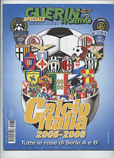 Orig.Annual / Yearbook  ITALY Seria A + B // Saison 2005/06 - all Teams  !! RARE