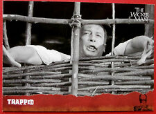 THE WICKER MAN Card #34 - Trapped - (Edward Woodward) - Unstoppable Cards 2014