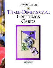 Three-dimensional Greetings Cards (Handmade Greetings Card) Dawn Allen New Book