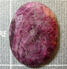 25.8 Ct RUBY Facet Oval African Natural Allure Gemstone