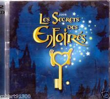 CD audio../...LES SECRETS DES ENFOIRES......2008.../...2 CD...........