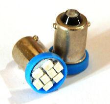 8 LED Parking / pilot Bulb FOR ROYAL ENFIELD BULLET - BLUE - 2 pc