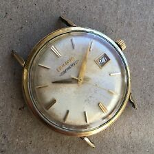 1960s gold plated BULOVA Aerojet date, ref.11AFACD