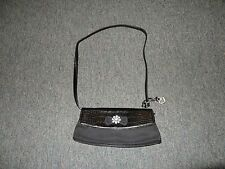 BLACK HANDBAG BY BRIGHTON **BLING ON THE FRONT **BEAUTIFUL**