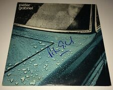 PETER GABRIEL Hand Signed CAR /P.G. One LP Vinyl Autograph Record PROOF