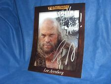 """Lee Arenberg """"Pirates of the Caribbean"""" Autographed 8"""" x 10"""" Color Photo"""