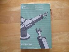 Robot Manipulators Mathematics Programming & Control Richard Paul 1981 HC MIT