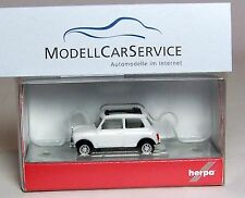 Herpa 1/87: 028592 Mini Cooper, white, with Roller roof and Auxiliary lights