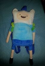 "2014 CARTOON NETWORK ADVENTURE TIME FINN w/Backpack Plush 18"" Soft"