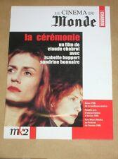 DVD LA CEREMONIE / CHABROL / HUPPERT / BONNAIRE / TRES BON ETAT