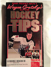 NHLPA'S Wayne Gretzky's All-Star Hockey Players Tips (VHS, Video, Tape 1994) New