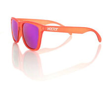 Nectar Men's Sahara Wayfarer Sunglasses Transparent Orange Skate surf eyewear