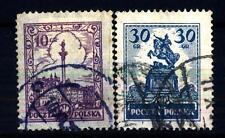 POLAND - POLONIA - 1925-1927 - Monumenti