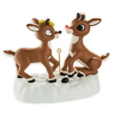 Carlton Magic Ornament 2013 Rudolph the Red Nosed Reindeer and Fireball CXOR051D
