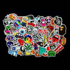 100pcs Patterns Sticker Bomb Decal Vinyl For Car Skateboard Laptop Luggage
