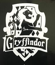 HARRY POTTER Hogwarts GRYFFINDOR HOUSE CREST vinyl car or computer decal!