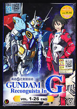 GUNDAM RECONGUISTA IN G *26 EPS*ENGLISH SUBS*ANIME DVD*US SELLER*FREE SHIPPING!*