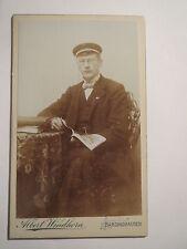 Barsinghausen - Student Fr. Mayer stud. phil - Pennäler 1903 - CDV / Studentika
