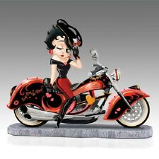 Betty Boop on a Chopper Motorcycle Figurine - Bradford Exchange
