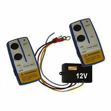 Wireless Winch Control Remoto 12 V Voltios De Recuperación 4x4 Atv Doble Mano Set me/w1003s
