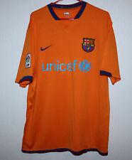 Barcelona Barca Spain away shirt 06/07 Nike Ronaldinho Xavi Messi