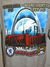 CHELSEA VS MANCHESTER CITY 2013 FOOTBALL SOCCER Short Sleeve T-shirt Size L HTF