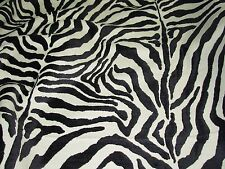"~3 YDS~""TIGER ZEBRA STRIPES"" ANIMAL~ELEGANT UPHOLSTERY FABRIC FOR LESS~"