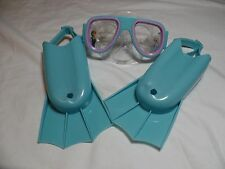 Disney Frozen Water Goggles and Flippers.