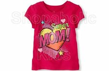 SFK Children's Place Super Mom Graphic Tee
