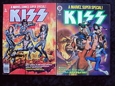 ULTIMATE KISS FAN LOT 1 ACE FREHLEY AUTOGRAPHED REAL BLOOD KISS COMIC & BONUS !