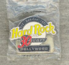 NEW-IN-BAG Hard Rock Cafe 2001 Hollywood Pin - 30 Years - est. London 1971