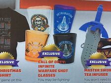 Call Of Duty Infinite Warfare Arcade Block EXCLUSIVE Set Of Shot Glasses