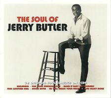 THE SOUL OF JERRY BUTLER - 2 CD BOX SET - MOON RIVER, ONE BY ONE & MORE