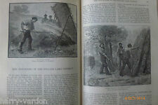Industries of English Lake District Antique Victorian Illustrated Article 1884