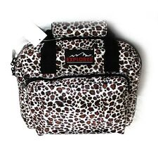 "11""  Ladies Leopard Padded Range Bag Pistol Hand Gun Soft Case Lockable Woman's"
