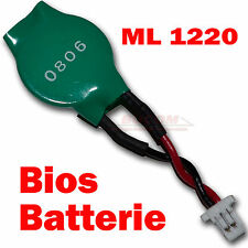 BIOS batería Asus Eee PC 1101ha 1005ha CMOS Battery ml1220 3v con cable
